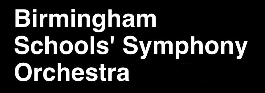 Birmingham Schools Symphony Orchestra