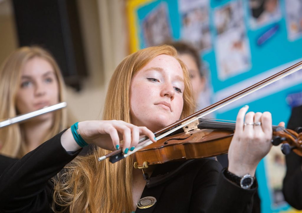 Jody Smith Violinist Edgbaston High School for Girls EHS