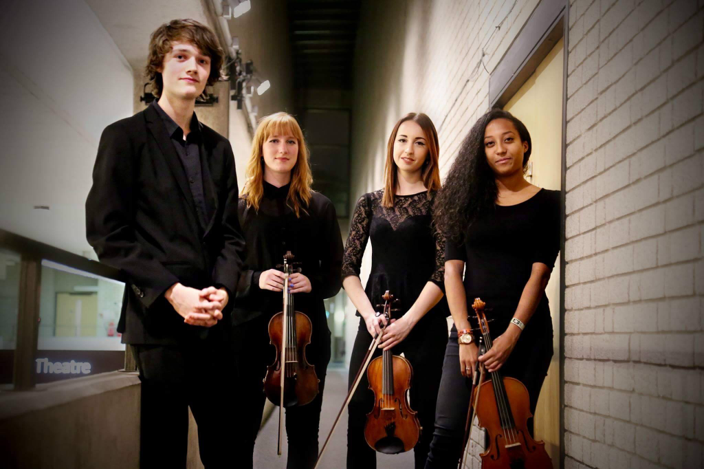 Marvolo Quartet RNCM, Malcolm Goodare Cello, Natalia Senior-Brown Viola, Isabella Baker Violin, Jody Smith Violin
